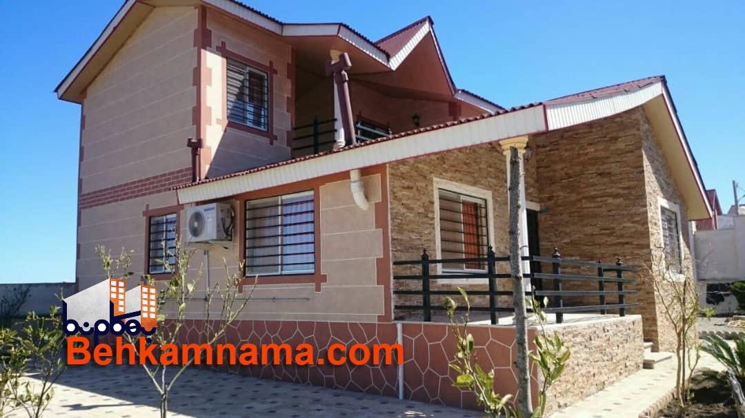 نمای کنیتکس ویلا در مازندران - بهکام نما