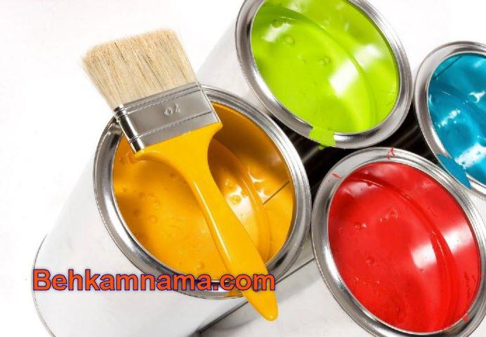 تولید رنگ ساختمانی - بهکام نما